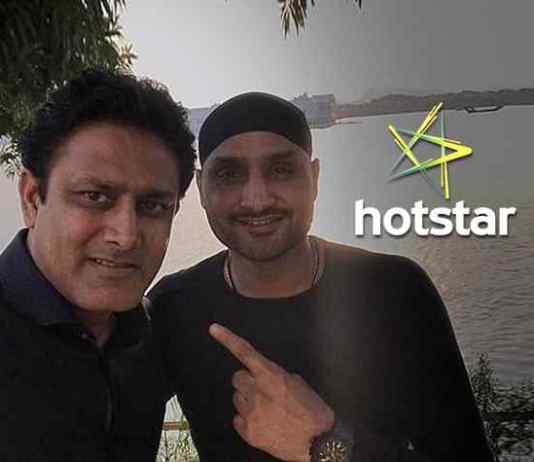 Harbhajan Singh & Anil Kumble in US for Hotstar launch - Kumble, Harbhajan in US to launch IPL for Hotstar - InsideSport