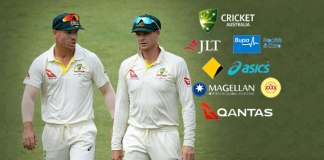 Australian cricketers David Warner (left) and Steve Smith (right) who were involved in ball tampering row: Shocked sponsors turn heat on Cricket Australia over ball tampering - InsideSport