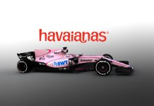 Havaianas steps into Formula 1 with Sahara Force India - InsideSport
