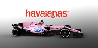 Havaianas steps into Formula 1 with Sahara Force India - InsideSport