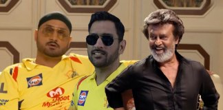 IPL 2018: When Chennai Super King stars feature with Rajnikanth for a #WhistlePodu video! - InsideSport