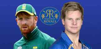 South African cricketer Heinrich Klaasen (left) will replace Steve Smith (right) in The Rajasthan Royals Squad for IPL 2018 after the latter was handed one-year ban in ball tampering scandal - InsideSport
