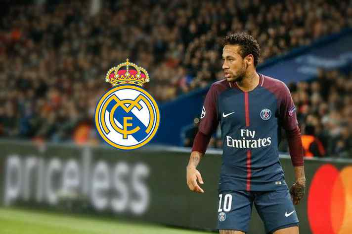 Neymar models new PSG kit amid fresh Real Madrid links