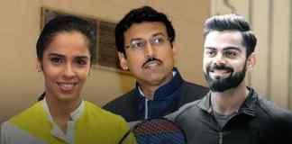 Sports minister Rathore throws a fitness challenge to Virat Kolhi and Saina Nehwal - InsideSport