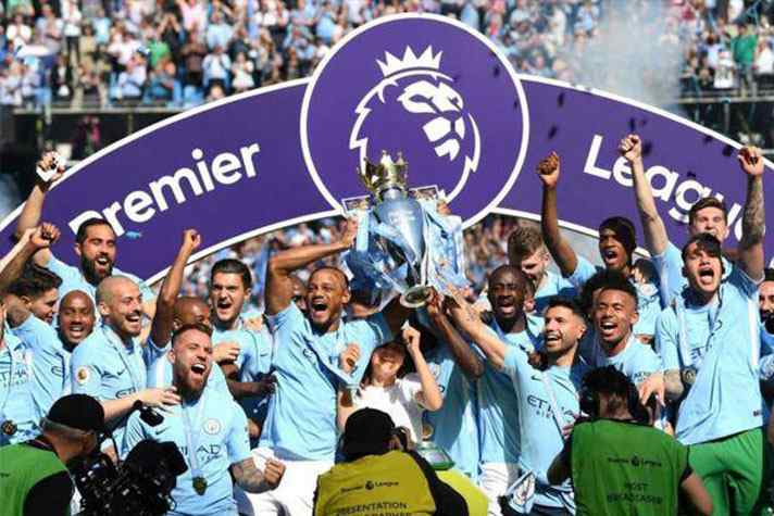 Premier League champions Manchester City soak up fans' adulation in victory parade