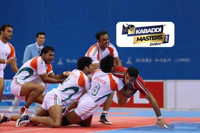 Kabaddi Masters Dubai: Squads named for kabaddi's biggest international spectacle - InsideSport