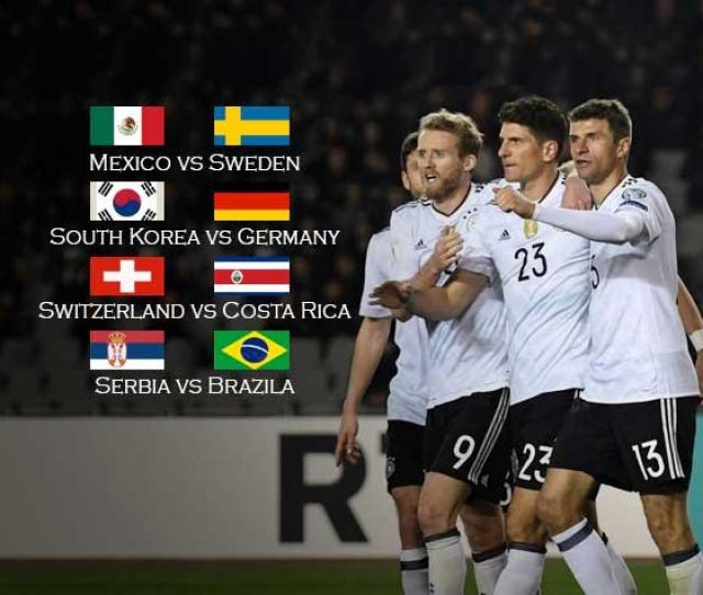 World Cup 2018 Live Germany Brazil Quest For Survival Live On Sonyliv Sony