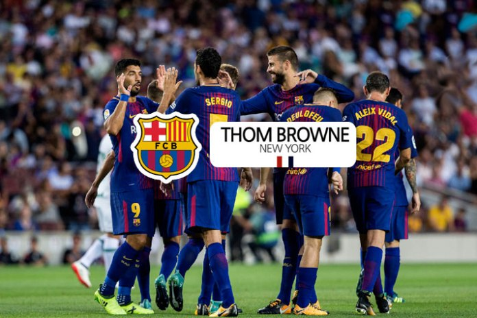 Barcelona gets fashion partner on board, signs 3-year deal with Thom Browne