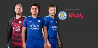 Leicester City signs Vitality as sponsor
