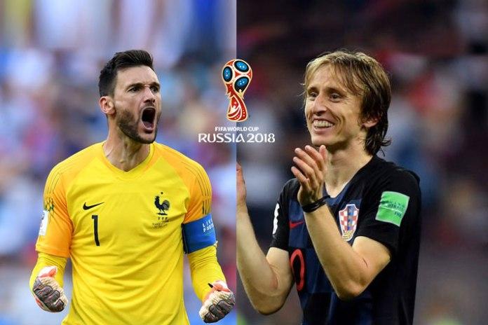 France vs Croatia FIFA World Cup 2018 Final - InsideSport