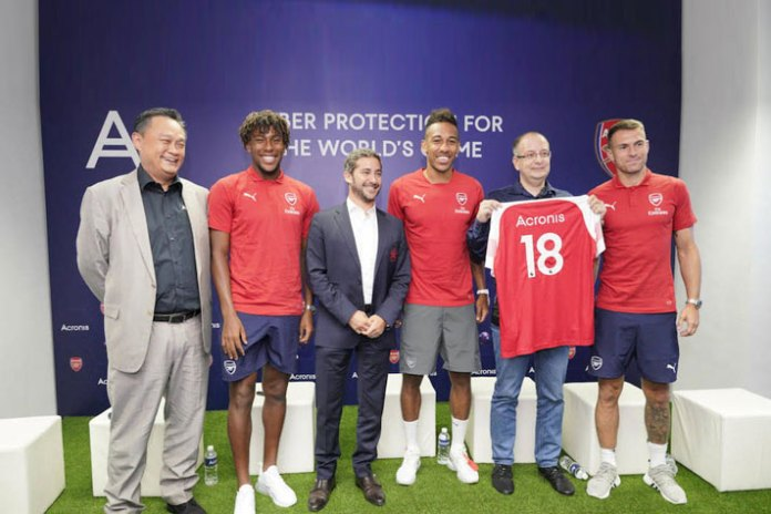 Arsenal inks data technology focused global partnership deal with Acronis