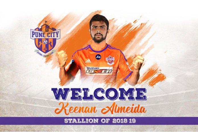 Keena Almeida fc pune city,ISL transfers,Kenna Almeida,fc pune city,indian super league