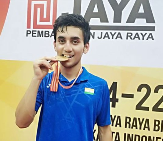 asian badminton championship,asian junior badminton championship,badminton association of india,asian junior badminton gold lakshya sen,lakshya sen