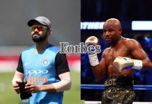 Virat Kolhi (left) and Floyd Mayweather (right) - InsideSport