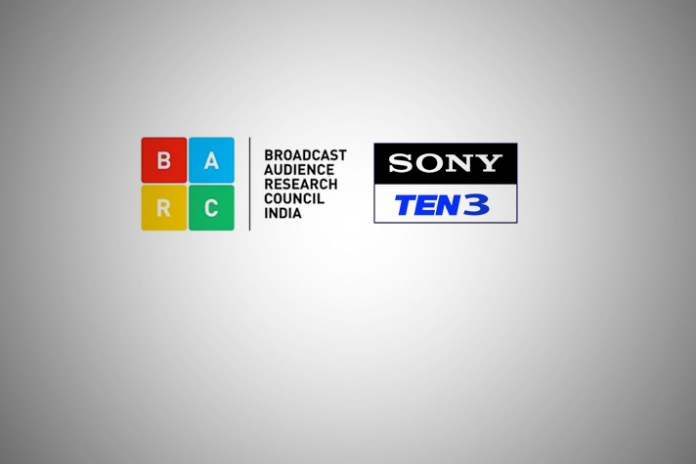 BARC Ratings, Sony Ten - Star Sports, England-India cricket, sports genre, insert graphics