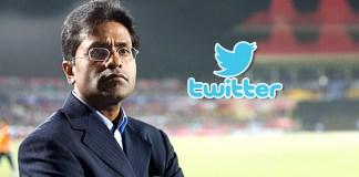 Lalit Modi,Modi twitter account,Lalit Modi questions BCCI,BCCI Constitution in tweet News,twitter account features