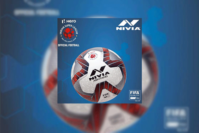 ISL 2018,indian super league ball partner,indian super league Nivia,nivia ball partner ISL,ISL 2018 news