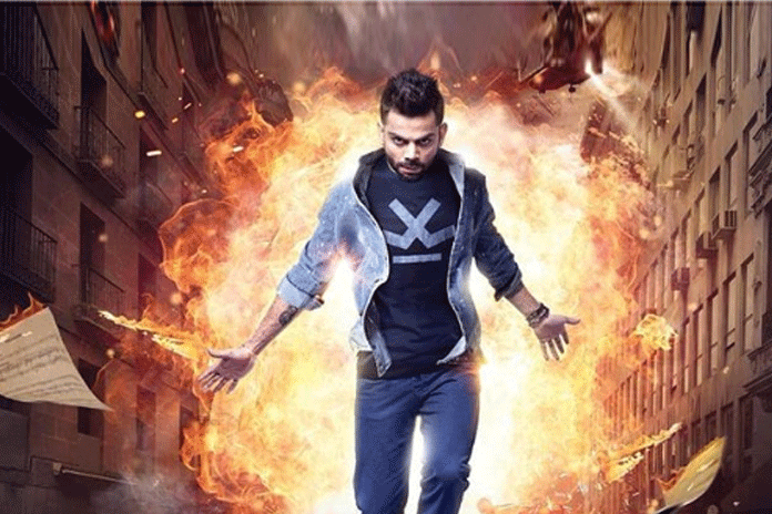 Indian Cricketer Virat Kohli,Virat Kohli Movie Trailer