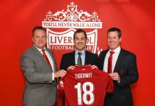 Premier League club Liverpool FC,Liverpool FC Partnership with TigerWit Limited,TigerWit Limited Partnership Premier League club Liverpool FC,UK-based global financial technology company TigerWit Limited,global financial technology company TigerWit Limited