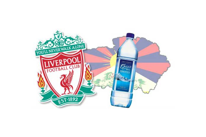 Liverpool Tibet Water deal,Liverpool ends tibet deal,tibet water resources limited,liverpool Sponsorship Deal,Premier League club Liverpool