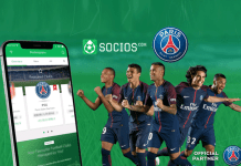 PSG First football Club,PSG with Socios.com deal,PSG First football Club Deal,French giants and top-flight club Deal,paris saint germain