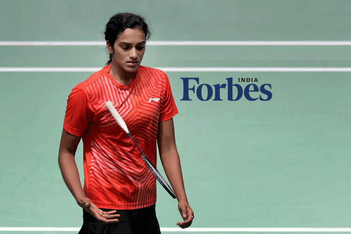 forbes Tycoons of Tomorrow,Forbes India,PV Sindhu forbes,pv sindhu Forbes' Tycoons of Tomorrow,2016 Rio Olympic Games silver medallist Sindhu