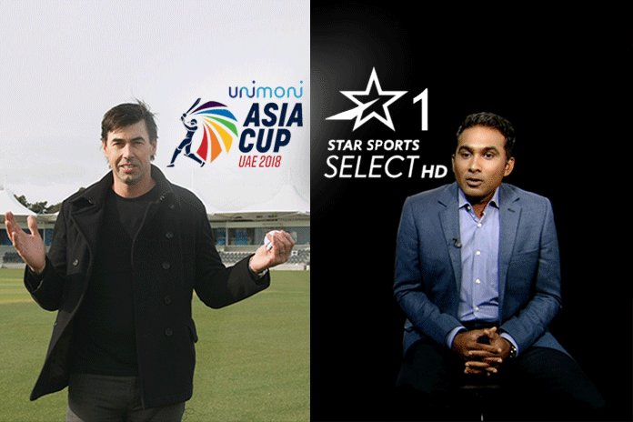 star sports select dugout,star sports,stephen fleming,unimoni asia cup 2018,asia cup 2018