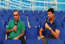 Aamir Sohail and Venkatesh Prasad,Venkatesh Prasad meet with Aamir Sohail,broadcast star sports network,Brook Bond Red Label Star Sports,brook bond red label