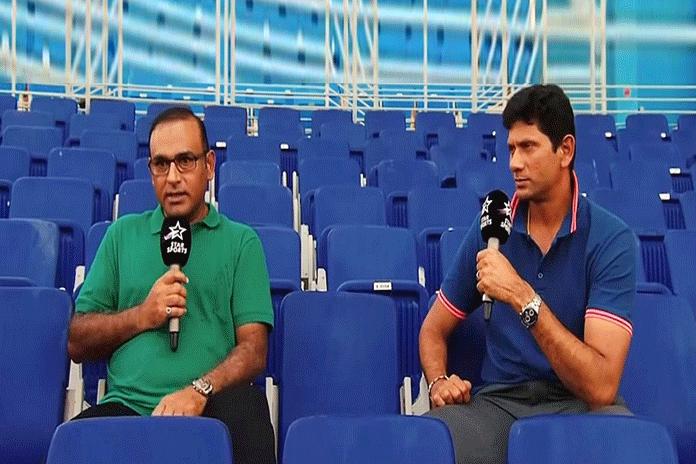 Aamir Sohail and Venkatesh Prasad,Venkatesh Prasad meet with Aamir Sohail,broadcast star sports network,Brook Bond Red Label Star Sports,brook bond red label