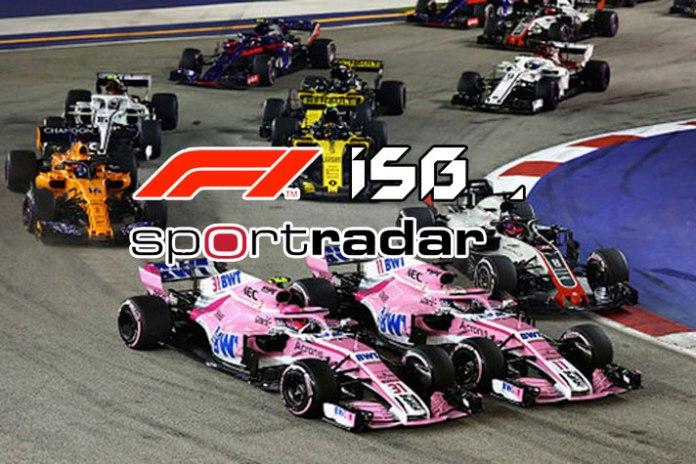formula 1 isg deal,gambling and betting sponsorships,Formula 1 Interregional Sports Group (ISG),ISG and Swiss sports data company Sportradar,formula 1 Deal