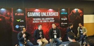 Airtel associate Singtel Group,Singtel Group Esports Gaming,esport gaming Singtel Group,Airtel, AIS, Globe and Telkomsel,Optus and Airtel esport