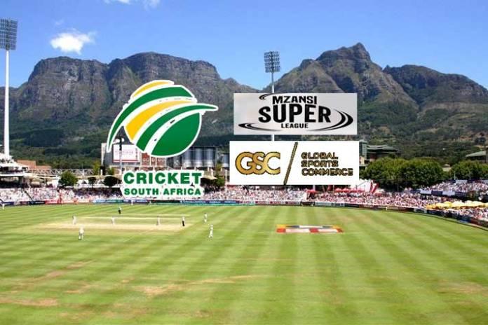 global sports commerce,cricket south africa,south african t20 league,mzansi super league t20,mzansi super league T20