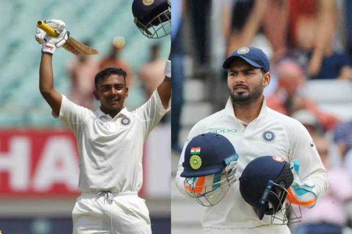 MRF Tyres ICC Player Rankings,west indies test series,rishabh pant,prithvi shaw,mrf tyrs icc rankings