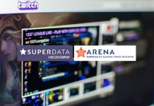 SuperData ARENA,Sponsorship valuation tool,esports streaming on Twitch,SuperData Arena Twitch, Youtube,Sponsorship valuation tool SuperData Arena