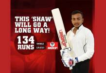 Prithvi Shaw west indies series,india west indies series,Baseline Ventures,prithvi shaw brands,prithvi shaw Indian Cricket
