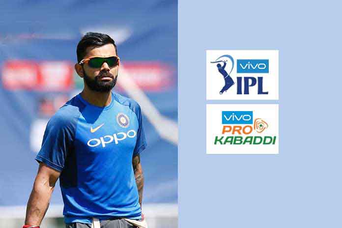 bbk electronics corporation,bbk electronics,indian premier league title sponsorship,pro kabaddi league title sponsorship,vivo and oppo sponsorships