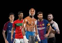 World top 5 Highest Paid Athletes,Top 5 Highest Earning Sport Stars,Lionel Messi highest earning stars 2018,Cristiano Ronaldo Highest Earning Sports Stars,Floyd Mayweather World's Highest Earning Sports Stars 2018