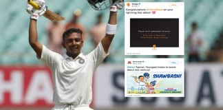 Pirthvi Shaw Indian Cricket,Prithvi Shaw Baseline Ventures,Prithvi Shaw Swiggy and FreeCharge,Prithvi Shaw FreeCharge Tweet,Swiggy and FreeCharge Tweets