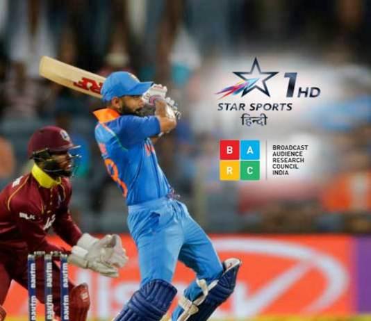 Pro Kabaddi BARC Rating,Star Sports 1 Hindi BARC rating,India West Indies ODI BARC Rating,BARC ratings pro kabaddi,star sports BARC Rating
