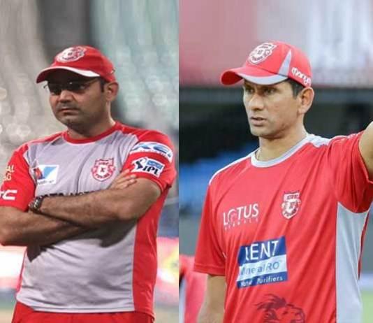 IPL Kings XI Punjab,Kings XI Punjab Indian Premier League,Venkatesh Prasad Indian Premier League,Virender Sehwag Kings XI Punjab,Mandeep Singh Royal Challengers Bangalore
