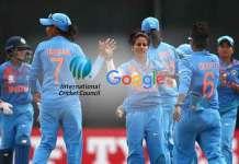 ICC Google Partnership,ICC Women's World T20,Google ICC Women's World T20,International Cricket Council,Women's T20 World Cup 2018