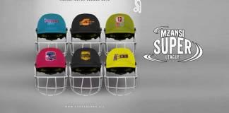 Kookaburra Mzansi Super League,MSL 2018,Kookaburra official helmets,Mzansi Super League Kookaburra,Mzansi T20 Super League