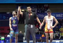 Indian wrestler Ravi Kumar,Ravi Kumar World Championship,U-23 World Championship,Senior U-23 World Championship in Bucharest,Ravi Kumar Taras Markovych