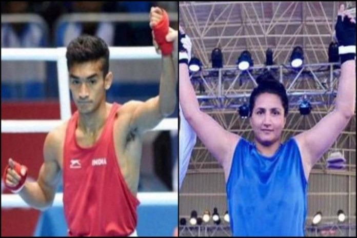Shiva Thapa,Pooja Rani,Olympic Test Event,Olympic Test Event Boxing,Tokyo Olympic Test Event