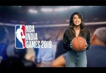 Priyanka Chopra,NBA India Games 2019,NBA India Games Campaign,NBA Games 2019,Sport News Business