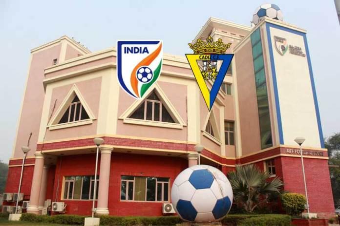 AIFF football management,Praful Patel,Cadiz CF,AIFF football education,Sports Business News