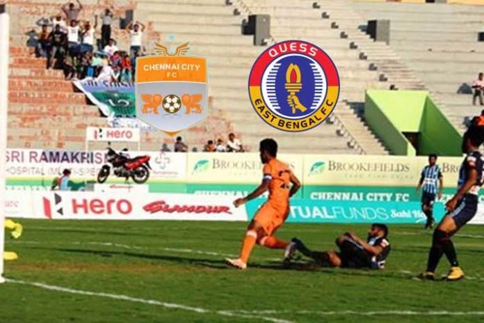 I-League LIVE,I-League LIVE Streaming,I-League LIVE telecast,I-League 2020 LIVE,East Bengal vs Chennai City LIVE