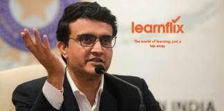 Sourav Ganguly,BCCI,Learnflix learning tool,Sourav Ganguly brand icon,Sports Business News India