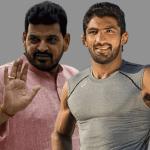 Wrestling Federation of India,Yogeshwar Dutt,All India Council for Sports,Harbhajan Singh,Deepa Malik