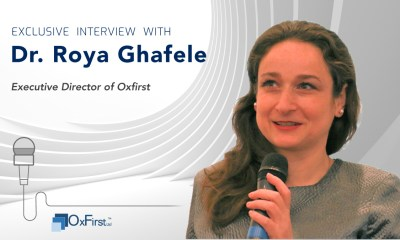 Roya Ghafele, Executive Director of Oxfirst